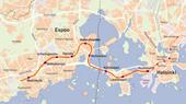Kartat Länsimetro