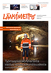 Länsimetron lehden kansi 1/2012