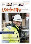 Länsimetron lehden kansi 1/2013