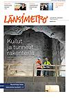 Länsimetron lehden kansi 1/2014