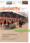 Länsimetron lehden kansi 2009