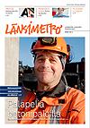 Länsimetron lehden kansi 2/2013