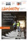 Länsimetron lehden kansi 2/2014
