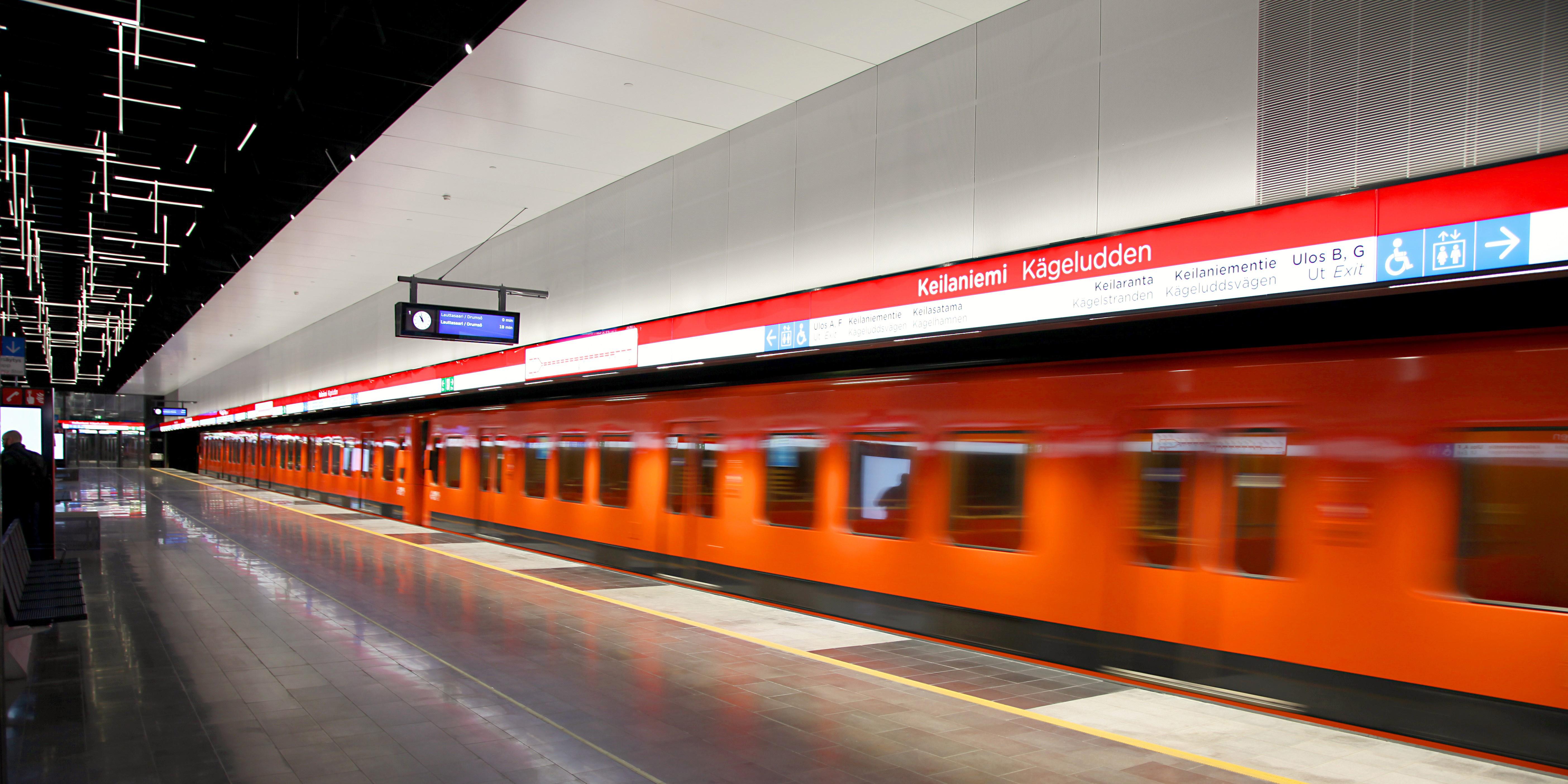 Ykkösvaiheen asemat | Länsimetro