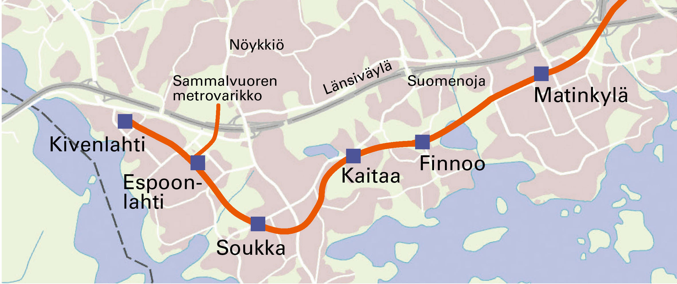 Construction Of The Matinkyla Kivenlahti Section Will Begin