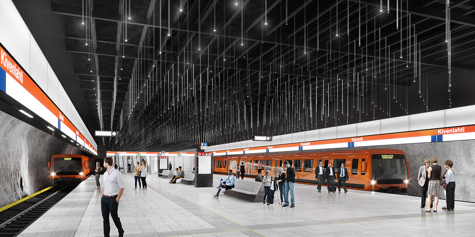 Kivenlahti Station Lansimetro
