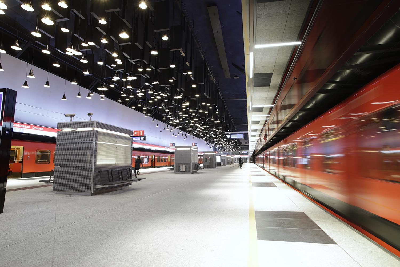 Lauttasaaren metroaseman asemalaituri