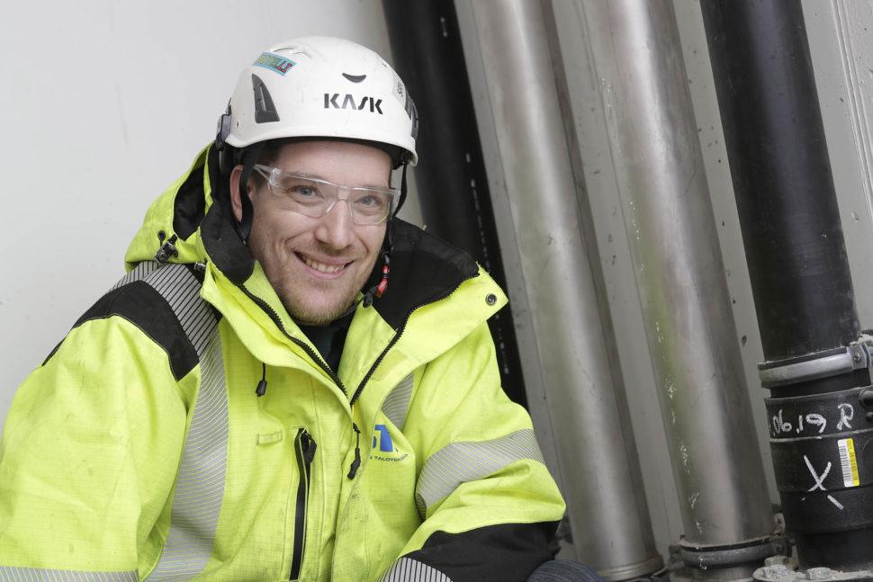 LVI-projektipäällikkö Jarkko Aramo