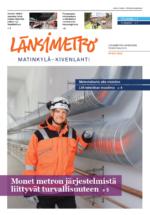 Länsimetron lehden kansi 2/2019