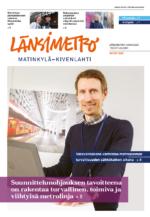 Länsimetro-lehden kansi 1/2020